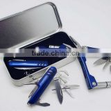 luxury Multi tool Pliers and multi knife in gift tin box