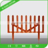 JFCG pvc fence use wood plastic composite wpc material