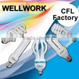 15w CFL Circuit Energy Saving Light Bulb CFL Bulb Spiral, U Shape