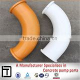 Twin-wall wear-resisting pipe elbow,concrete pump parts, Steel pipe fitting elbow                                                                         Quality Choice