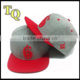 custom material for snapback caps wholesale 3D embroidery/customize snapback hats                                                                         Quality Choice