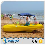 HEITRO PE Rotational molding electric boat for sale 4 adults