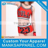 Customized Sublimation Spandex Cheer Uniform