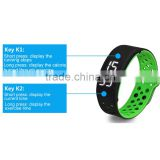 waterproof silicone bracelet pedometer mechanical pedometer
