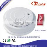 Highly Recommended Pulse Induction Metal Smoke Detector housing With Smoke Test