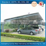 Prefab high snow load modern metal carports for car parking/car garages/car canopy