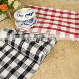 100% Cotton Soft Cheap Gingham Towel
