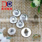 Nickel lead free factory price copper alloy custom jeans rivets buttons