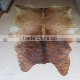 factory direct 24hours hotline super soft carpet wholesaler,anti-slip cotton backing can made cowhide carpet