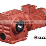 Professional Manufacturer of S Series Helical Worm Gear Motor Gearbox for Agricultural Machine/Chipper/Conveyor in China