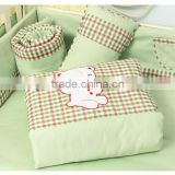 100% Cotton Embroidery Baby Bedding Set