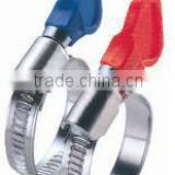 Butterfly Hose Clamp With Plastic Grip