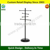 Modern Black Metal Tabletop Jewelry Tree Display Stand / Decorative Bracelet, Earring & Necklace Hanger YM5-1044