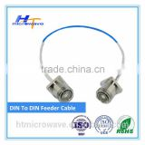 RF Fitting Coaxial Cable 7/16 DIN Male/Female for 7/8 Feeder cable