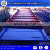 Good Quality Steel Glazing Roof Sheets Stamping Machine/Low Price Aluzinc Glazing Roofing Step Tile Roll Forming Machine