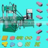 Cement Concrete Hydraulic Hollow Block/Automatic Interlocking Concrete Paver Block Brick/Brick mould making machine manufacture
