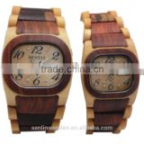 New!! wood watch with gift box Quartz casual watches for man famous brand wood watch chrismas gift wood watch