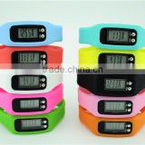 custom silicone led digital watch candy color jelly sports bracelet watch reloj
