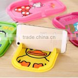 New design silicone mobile phone pad /car mobile phone pad /car sticky pad