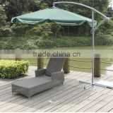 garden set outdoor furniture cheap poly rattan sun lounger chaise