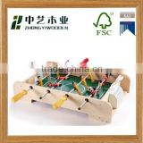hot selling new design fancy DIY mini wooden football soccer table with high quality