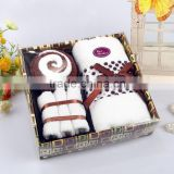 Brand new towel gift sets double side