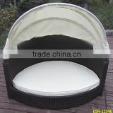 Rattan dog Bed With Washable Pillows