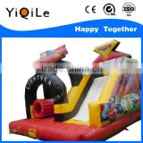 Exciting!!! Inflatable children playground with bouncer slide and inflatable castle toys