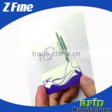 RFID Transparent Smart ID card with 125KHz Chip/Full Color Printing NFC Card