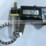 Competitive price thrust bearing with ball bearing casters and high speed thrust ball bearing