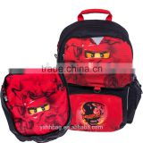 NINJAGO Kai Freshmen2 School Bag LEGO Ninjago Future Backpack School Bag Attachable gym bag(ES-Z174)
