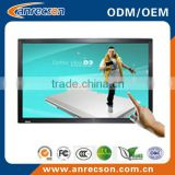 "46"" frameless lcd monitor with touchscreen"