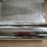 Double Sided Aluminum Construction Foil with Fiberglass insulation prices
