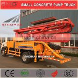 Top Quality! 25m, 29m, 33m Small Concrete Pump Truck, Truck Concrete Pump, Concrete Boom Pump for sale in South America