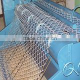 decorative chain link fence Galvanized or PVC Coated / malla de alambre de diamante,valla