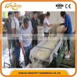 Automatic mung soya bean sprout cleaning shelling machine line