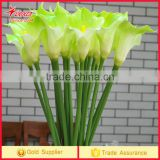 Middle size Calla Lily Home Party Wedding Posy Real Touch Latex Silk Flowers Bouquet PU Artificial Flowers