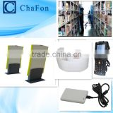 library anti-theft system ( Provide rfid EAS gate,rfid desktop card reader,rfid handheld reader,rfid sticker,SDK,demo software)