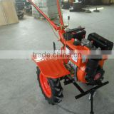 MeiQi 9hp 186F diesel engine cultivator tiller with electric start