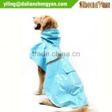 Waterproof dog rain coats jackets