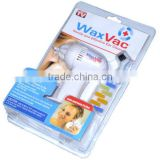 Free Shipping Cordless Electric Wax Vac Ear Vacuum Cleaner Extra Ear Wax Remover