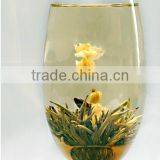 Chinese Herbal Flower slimming Tea,Nice gift Flower Blooming Clean up the intestines and stomach tea