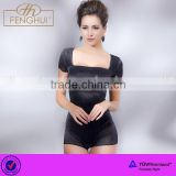 2015 the latest v-shaped backless body suit