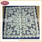 beautiful design embroidery applique embroidered tablecloth