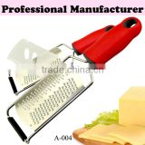 New design Stainless steel zester,kitchen vegetable grater ,cheese grater