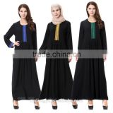 cotton linien plus size muslim dress/ yimdu muslim islamic latest design abaya kaftan dresses/fancy dl islamic muslim dress