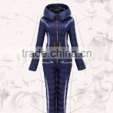 2016 Newest style!!!Winter warm Ski Suits women Russia One Piece jumpsuits for lady Snow Wear Women's Down Coats Slim Bodysuit