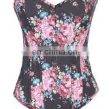 Hot Selling Flower Waist Slimming Corset Bodyshaper Wholesale