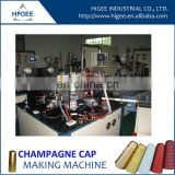 cristal champagne cap making machine