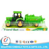 Factory out-let inertial farmer truck farm tractor toys